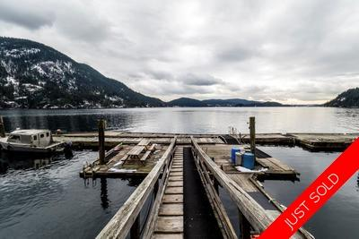 Indian Arm/Deep Cove House for sale: Brighton Beach 2 bedroom 1,350 sq.ft. (Listed 2018-02-28)