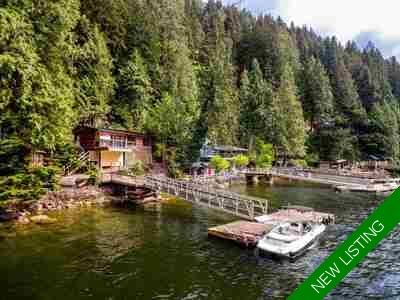 Indian Arm House for sale:  2 bedroom 800 sq.ft. (Listed 2018-09-10)