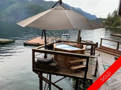 Indian Arm House for sale:  2 bedroom 704 sq.ft. (Listed 2020-03-12)