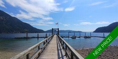 Indian Arm House with Acreage for sale:  2 bedroom 1,190 sq.ft. (Listed 2020-04-30)